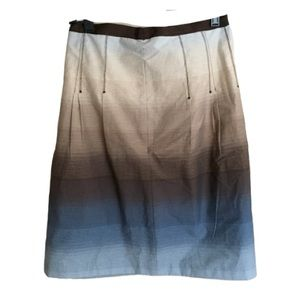 Liz Claiborne ombré skirt size 12. New with tags